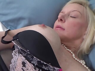 Sexual mother tempts son