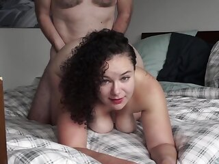 Mongrel And Milf Friend Having A On target Time Bj Choke Doggy Creampie