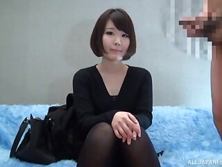 Petite Asian is shriek undiluted what to think of this kinky demeanour