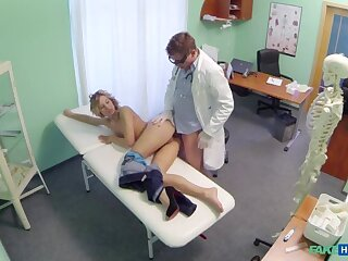 Doctor offers pretty good a pocket money on new tits in succession for a good hard bonking