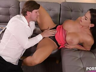 Top-heavy bombshell Chloe Lamour needs her asshole to be jammed with big cock GP904