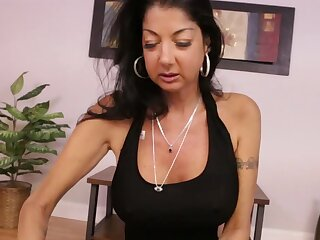 Nadia Night plays her own games with the stepson's penis