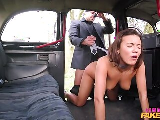 Hansom cab heist ends in horny cab fuck